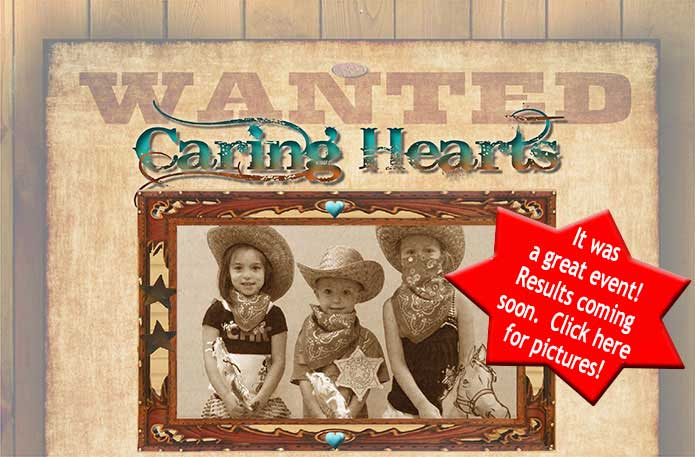 Save the Date for the Caring Heart Roundup, March 29th at the Hilton